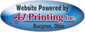 This site powered by A-1 Printing Inc.
